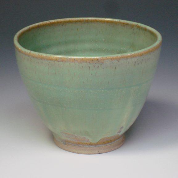 Squareware bowl Spring green