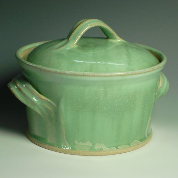 Handmade Casserole Dish - Green
