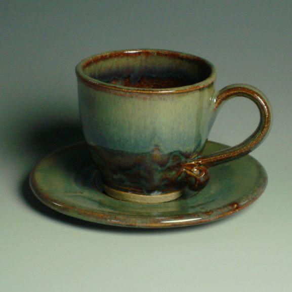 Espresso Cup & Saucer - Autumn