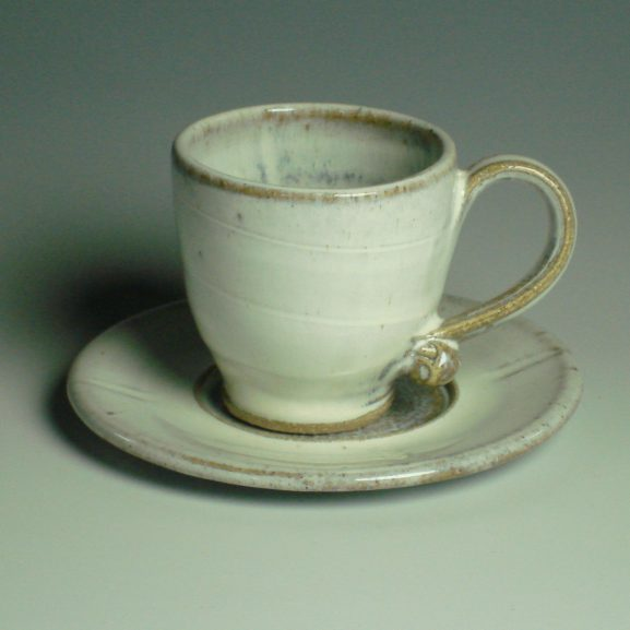 Espresso Cup and saucer - Winter white