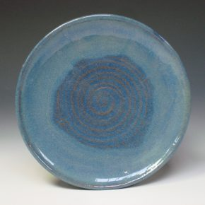 Serving Plate - Summer blue