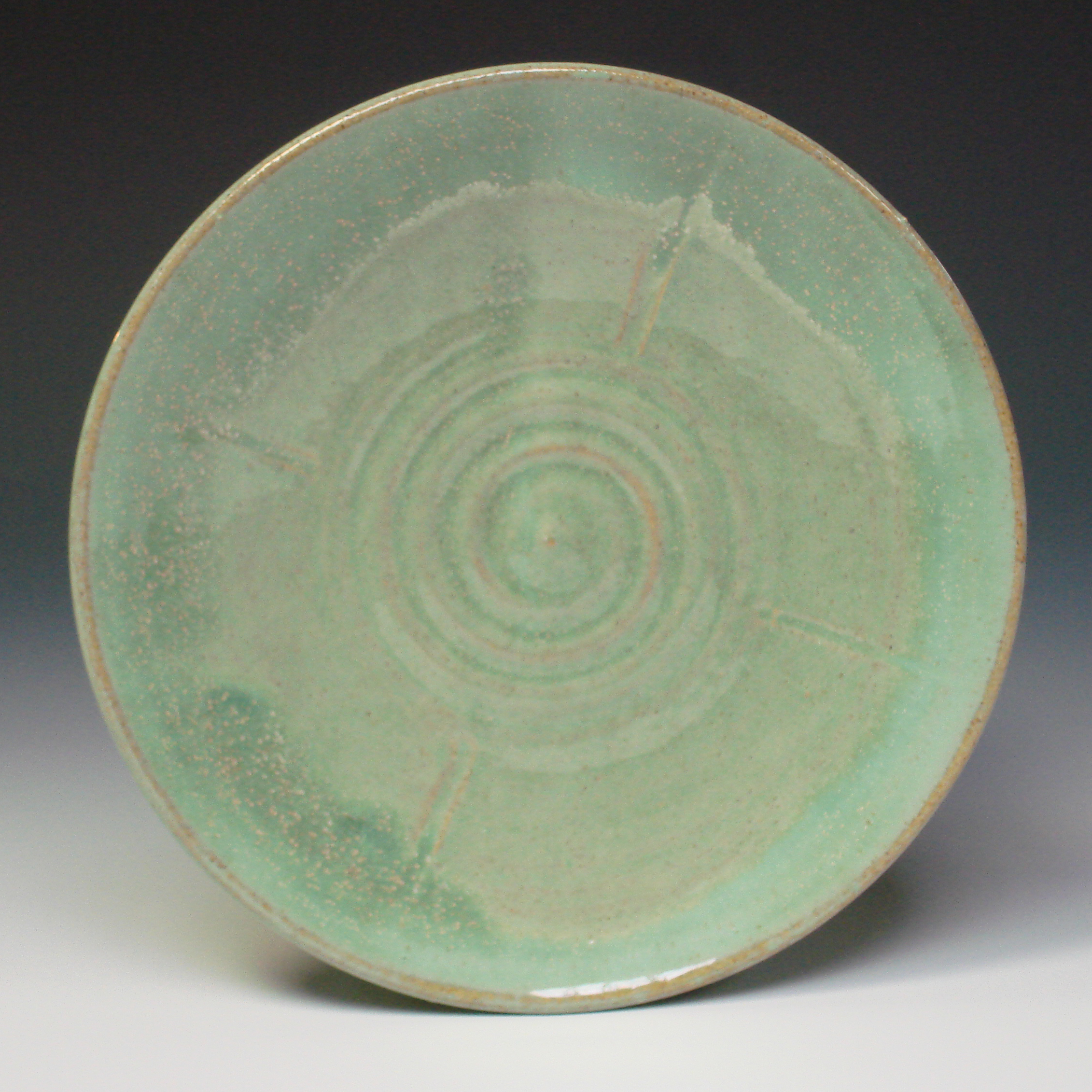 Serving Plate - Spring Green