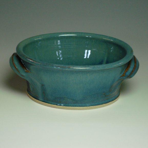 Serving Dish - Summer blue