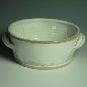 Serving Dish - Winter white