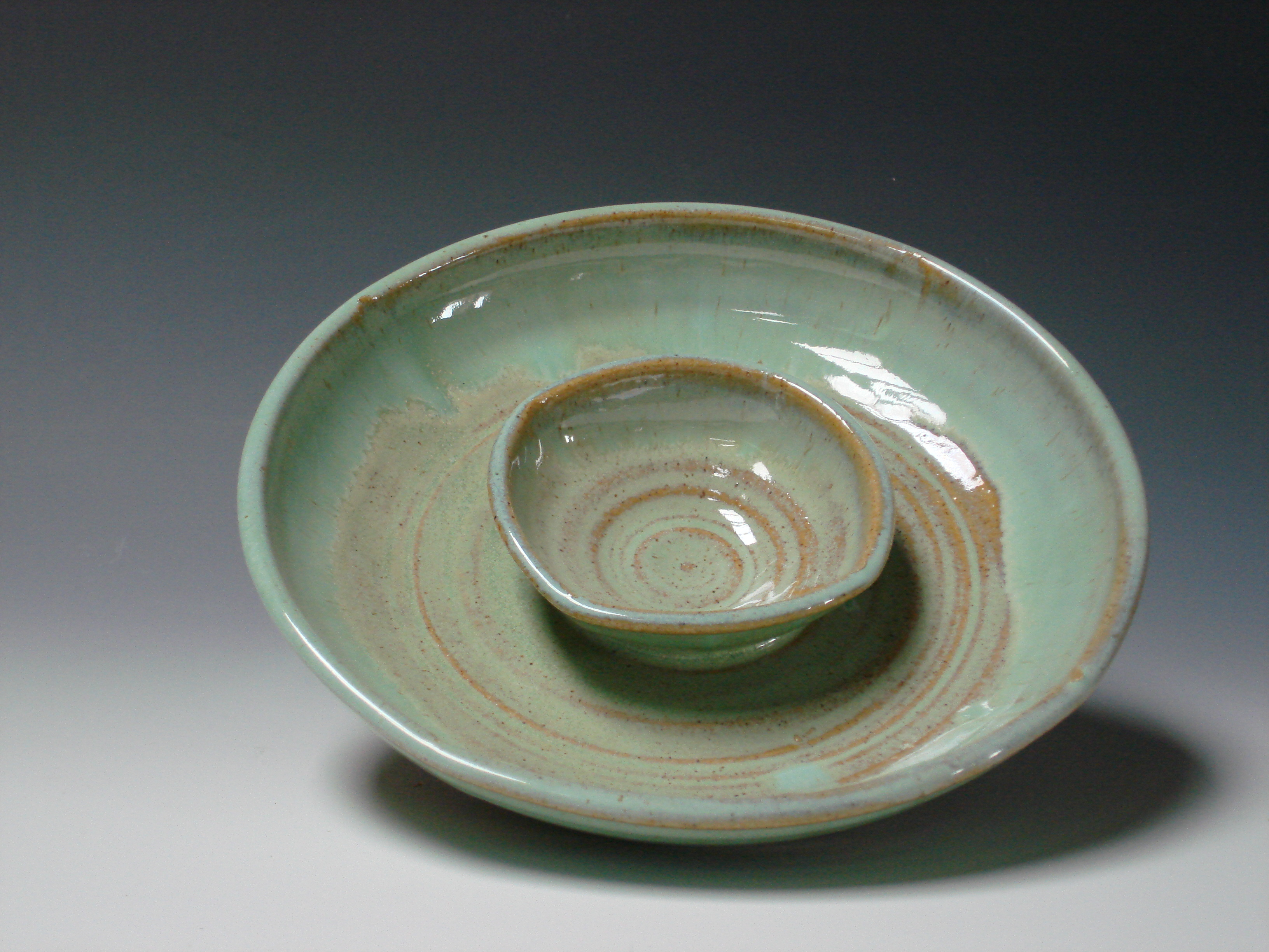 Olive dish/dip - Green