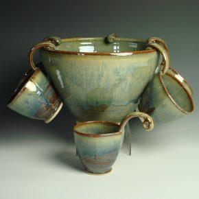 Punch bowl - Autmn colour