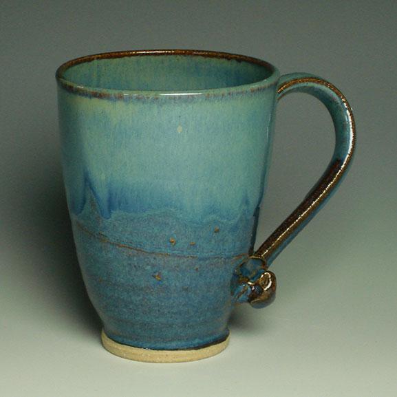 Squareware summer blue mug