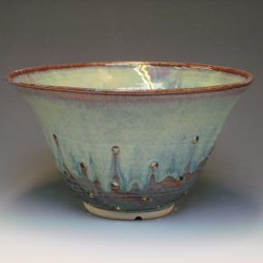 Ceramic colander - colour Autumn