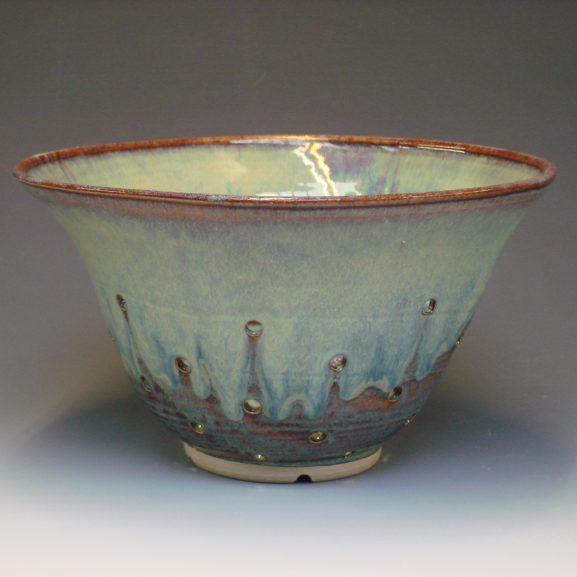 Ceramic colander - colour Autumn