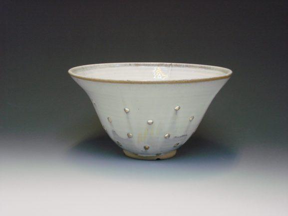 Ceramic Colander white colour