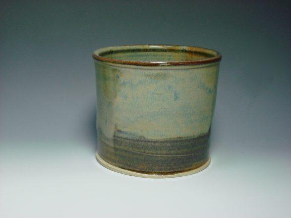 Autumn ceramic plant pot