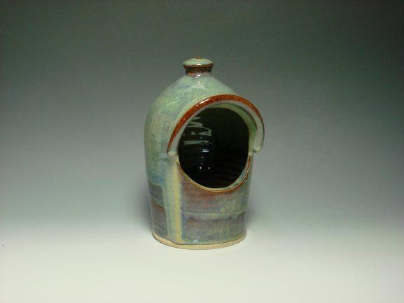 Ceramic Salt pot - Autumn